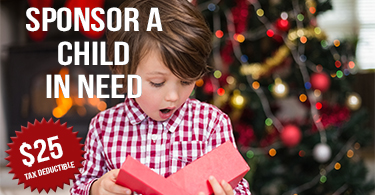 Sponsor a Child In Need This Holiday!