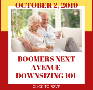 Boomers Next Avenue- Downsizing 101