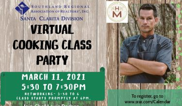 SCV Virtual Cooking Class Party